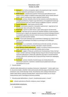 Romantyzm - Język polski, opracowanie na sprawdzian School Organization Notes, School Notes, School Motivation, Study Notes, Chemistry, Back To School, Science, Education, Learning