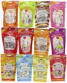 Dairy-Free, Natural Hard Candy.  Great Sampler for Easter!
