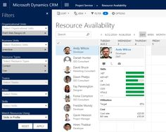 Using Microsoft Dynamics CRM Project Service to Manage Resources, Roles & Skills