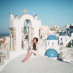 Santorini, Greece | #kychelletravels