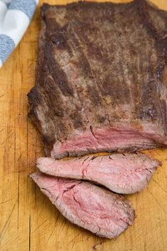 """You've probably read in recipes and heard again and again that meat should always be sliced """"against the grain."""" But what does that mean"""