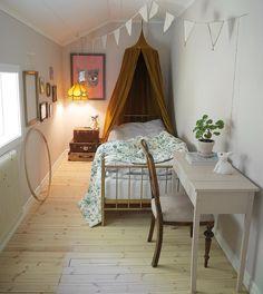 Fijne #meidenkamer | nordic_remake (insta) Umea, Pretty Room, Toddler Bed, Children, Kids, Bedroom, Instagram Posts, Modern, Furniture