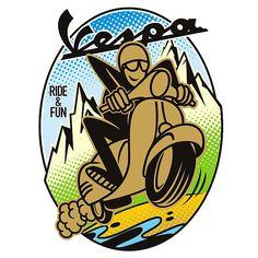 Vespa Ride and Fun