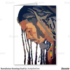 Rastafarian Greeting Card