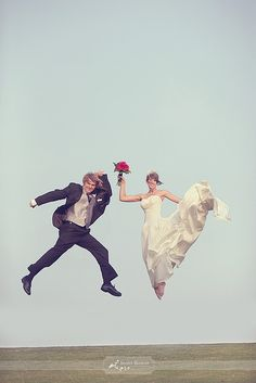 wedding jump...that's a high jump