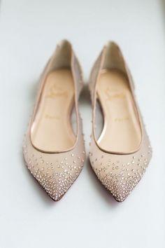 chaussures plates mariée