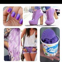 Purple everything!