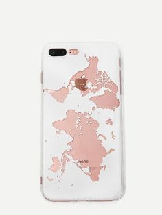 Shop World Map Graphic iPhone Case online. SHEIN offers World Map Graphic iPhone Case & more to fit your fashionable needs. Cute Cases, Cute Phone Cases, Iphone Phone Cases, Phone Covers, Iphone 8 Plus, Coque Iphone, Portable, Tech Accessories, Just In Case