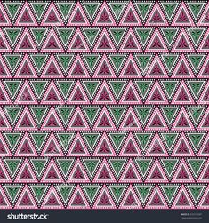 Seamless  decorative hand drawn pattern. ethnic endless background with ornamental decorative elements with traditional etnic motives, tribal geometric figures. Print for wrapping, background