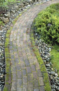 Old Brick Garden Path Royalty Free Stock Photo Brick Garden, Garden Paths, Garden Art, Home And Garden, Dream Garden, Garden Landscape Design, Garden Landscaping, Old Bricks, Trees To Plant