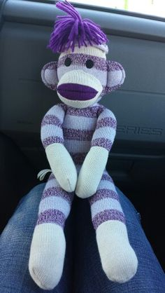 Sock monkey #2 Washington DC
