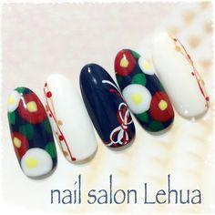 Kiss Nails, New Year's Nails, Mexican Nails, Kawaii Nails, Japanese Nails, French Tip Nails, Nail Art Hacks, Stylish Nails, Flower Nails