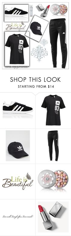 """""""adidas set"""" by fuad-zejnilovic ❤ liked on Polyvore featuring adidas, Brewster Home Fashions, Guerlain, Burberry and Kenneth Cole"""