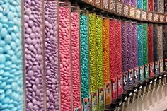 Taking a trip to the M&M Store - Take photos of all the rows!