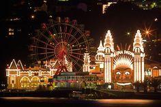 Visit Luna Park! Sydney Australia :)