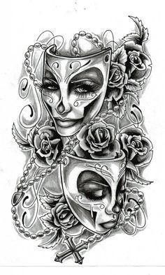 feminine tattoo design