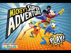 Mickey Mouse Clubhouse (2016) Full Episodes - Mickey's Super Adventure - Disney Jr Games
