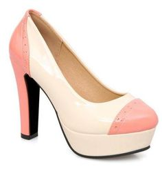 Pink Wide Width Heels