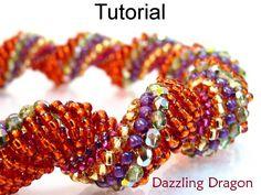 Beading Pattern Jewelry Tutorial Beaded by SimpleBeadPatterns