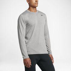 84d93f33da78 Nike Dri-FIT Legend 2.0 Men s Long-Sleeve Training Top Size 3XL (Dark Grey  Heather)