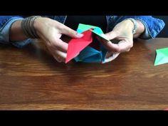 Kusudama 12 in elkaar zetten - YouTube
