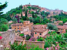 Valldemossa, Majorca- gorgeous town high up in the mountains