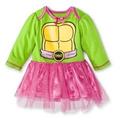 NINJAT NBG TMNT Tutu Bdyst Green- The first girly TMNT thing I've found! So cute!