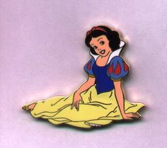 Snow White and the Seven Dwarfs - LE Auction Pin. Disney Auctions (P.I.N.S.) - Snow White Sitting. The original Disney princess, Snow White, lends her presence to this beautiful gold-finished character pin. This is a Disney Auctions exclusive in a limited edition of 1,000.This picture is courtesy of pinpics. Size: approx. 1.75 inches x 2 inches.Materials: hard enamel. Price 25.99 at ToysbyStacy.com