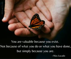 You have value Max Lucado, Almost Always, People Around The World, Bible Verses, Life Quotes, Spirit, Journey, Inspirational Quotes, Amazing