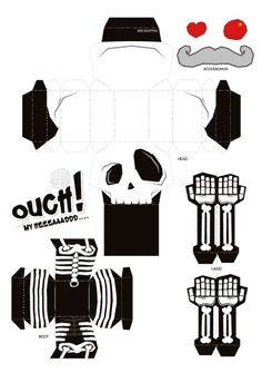 Blog_Paper_Toy_papertoy_Ouch_My_Head_template_preview