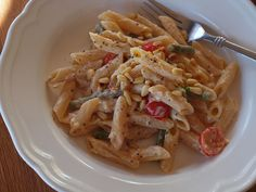 easy pasta dish in the Thermomix