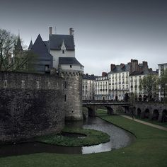 Chateau de Nantes - France