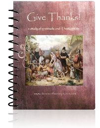 Give Thanks, Thanksgiving for LDS kids