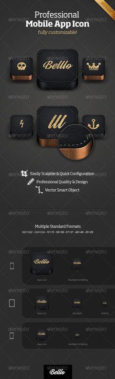Professional Mobile App Icon