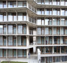 Students residence in Paris, by TVK
