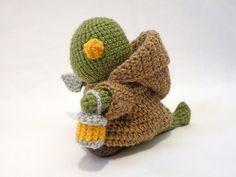 Amigurumi Vivi Free Patterns : A free crochet pattern for a final fantasy tonberry amigurumi that