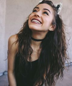 """""""Hiiiii. the names Thalia. I have a brother named Sam. I make videos on YouTube and I sometimes sing at my brother's friend's concerts.I'm sorta shy but I'm flirtatious as fuck. I do swear a lot. Just a warning."""""""
