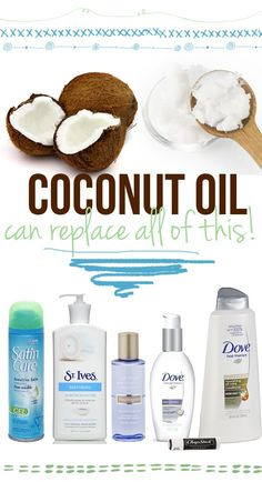 Coconut oil. Perfect travelling companion.