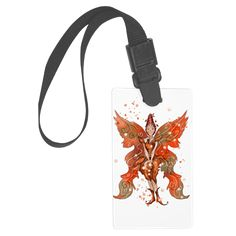 Large Luggage Tag  www.teeliesfairygarden.com Spot your bag right away with our unique and custom luggage tag. #fairytag