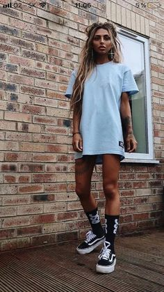 41 Summer Oversized T-Shirt Ideas To Enhance Your Look Tomboy Fashion Enhance ideas outfit Oversized Summer summeroutfit tshirt Tomboy Fashion, Look Fashion, Girl Fashion, Fashion Outfits, Fashion Trends, Fashion Ideas, Tomboy Style, Chubby Fashion, Fashion Hacks