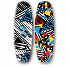 Radical Wakeboard | Airhead Watersports  RADICAL's abstract geometric graphics really catch the eye. It delivers smooth transitions through turns and a consistent pop off the wake. The floaty nature of this 143cm free-ride wakeboard is designed to help riders of all levels excel at the sport.