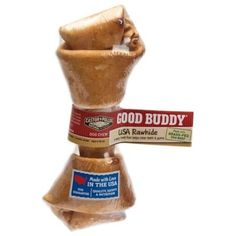 Castor & Pollux Good Buddy USA Rawhide Bone, One 4-5 Inch Bone (Pack of 8) ~~ You can read more reviews of the product by visiting the link on the image. (This is an affiliate link and I receive a commission for the sales)