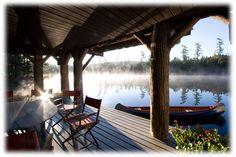 Lake Kora... one of the original Adirondack Camps. Looks unbelievable.