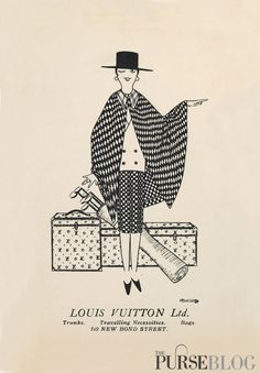 Vintage Louis Vuitton Trunks ad