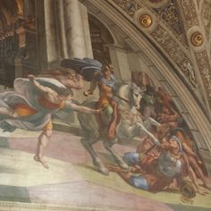 Cacciata di Eliodoro dal tempio Stanze di Raffaello Musei Vaticani Roma