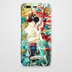 Little Mermaid Disney Art Google Pixel Case | casefantasy