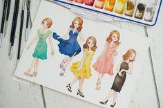 Little Doodles, Love Illustration, Movie Wallpapers, Film Serie, Vintage Comics, Fanart, Character Design Inspiration, Female Art, Comic Art