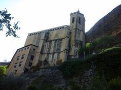 Graus (Huesca), basílica de la Virgen de la Peña, agosto 2015 (Carmen hb)
