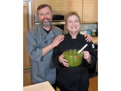 Avanti Café's executive chef and co-owner Mark Cleveland prepares Zhug, a herbaceous hot sauce that adds pizzazz to everything from fish to kebobs to soup.  http://www.ocregister.com/articles/fresh-348793-hot-zhug.html  #healthy #delicious #yum #veggie #vegitarian #natural #organic #Avanti   #ChefMarkCleveland #ChefCathyThomas #HotChilies #Zhug  http://www.youtube.com/watch?v=wSovhDEMwYM=plcp