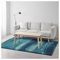 IKEA - SÖNDERÖD Rug, high pile blue